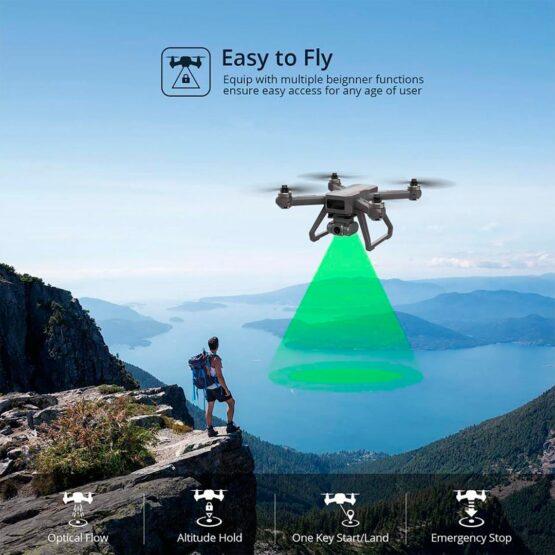 Drone Holy Stone D15 4k Camara Wifi Gps 20min 3
