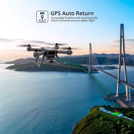 Drone Holy Stone D15 4k Camara Wifi Gps 20min 6