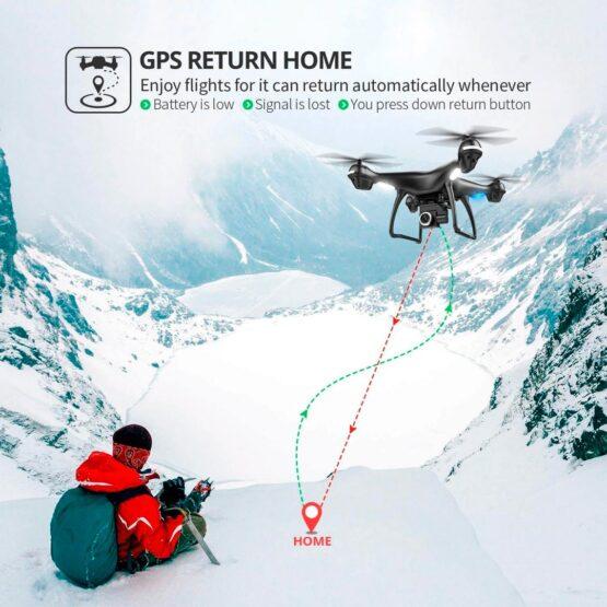 Drone Holy Stone Hs100 2k Camara Wifi Gps 18min 4
