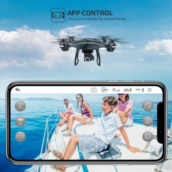 Drone Holy Stone Hs100 2k Camara Wifi Gps 18min 5