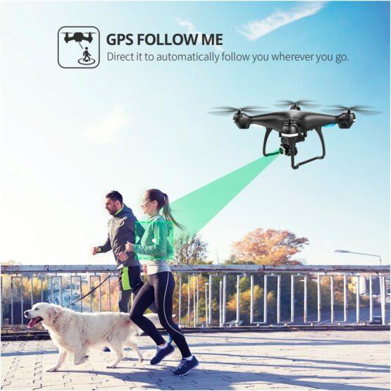 Drone Holy Stone Hs100 2k Camara Wifi Gps 18min 6