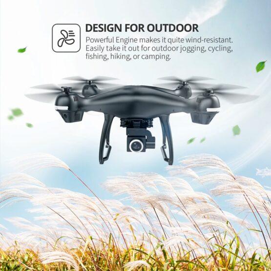 Drone Holy Stone Hs100 2k Camara Wifi Gps 18min 7