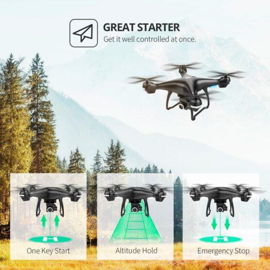 Drone Holy Stone Hs100 2k Camara Wifi Gps 18min 8
