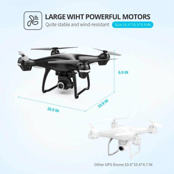 Drone Holy Stone Hs100 2k Camara Wifi Gps 18min 9