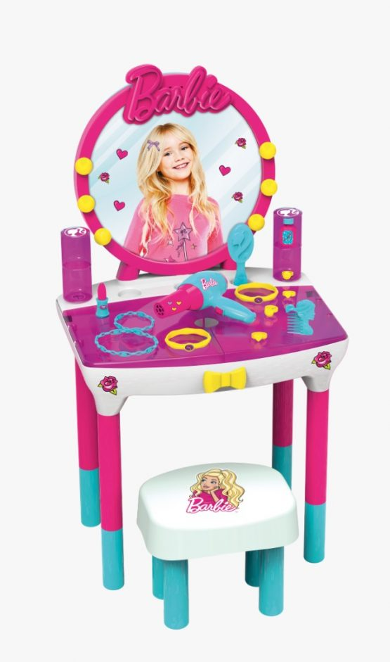 Estudio De Maquillaje Barbie + Accesorios 1