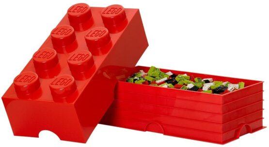 Caja de Almacenamiento Lego Storage Brick 8 Apilable 4
