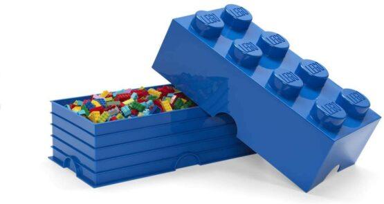 Caja de Almacenamiento Lego Storage Brick 8 Apilable 9