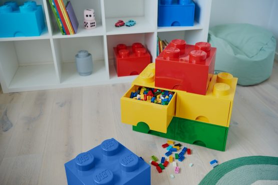 Caja de Almacenamiento Lego Brick Drawer 8 Apilable 4