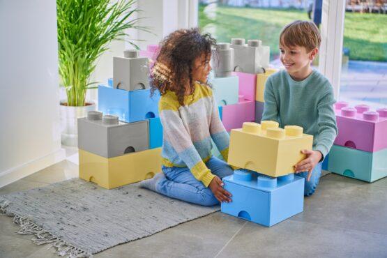 Caja deAlmacenamientoLego Brick Drawer 4 Apilable 12