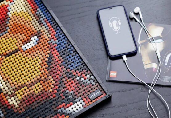Lego Art Marvel Studios Iron Man 4