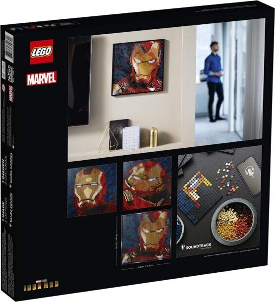 Lego Art Marvel Studios Iron Man 8