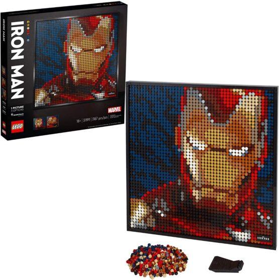 Lego Art Marvel Studios Iron Man 1