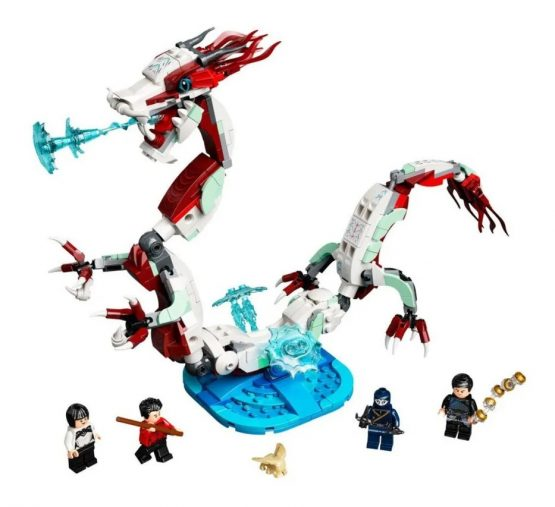 Lego Marvel Shang-Chi Batalla en la Antigua Aldea 1