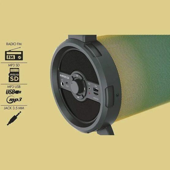 Parlante Avenzo Bluetooth Bazooka 18W SP3301B 4