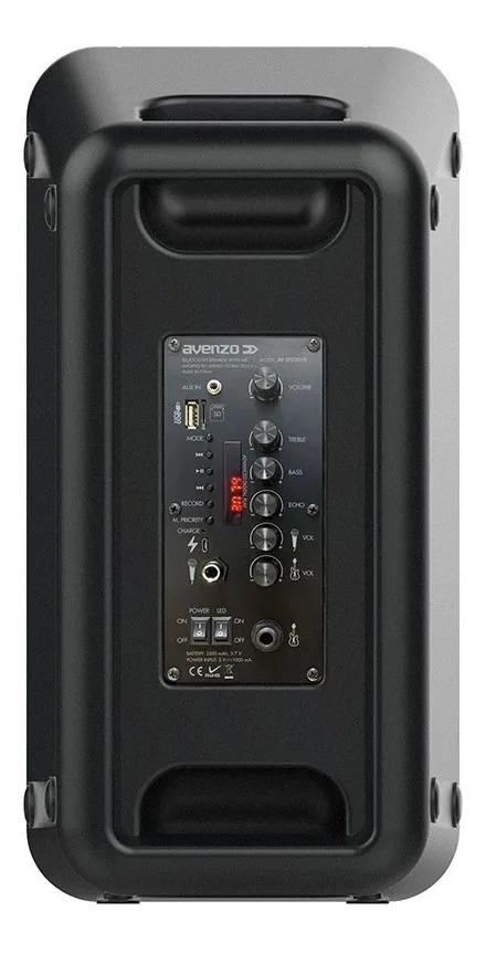 Parlante Avenzo Bluetooth Led y Micro 250W SP3201B 3