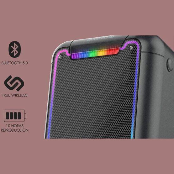 Parlante Avenzo Bluetooth Led y Micro 250W SP3201B 5