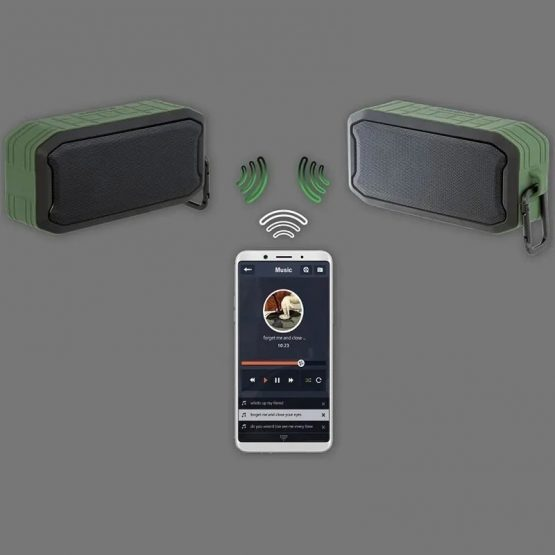 Parlante Avenzo Waterproof Bluetooth SP3002BG 5