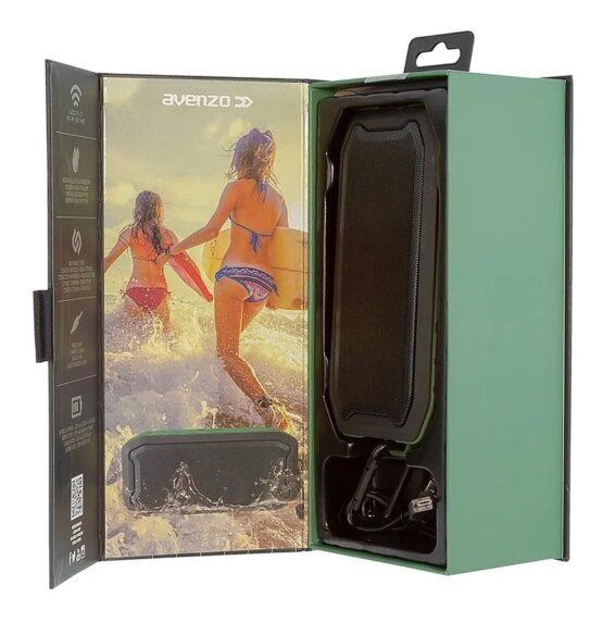 Parlante Avenzo Waterproof Bluetooth SP3002BG 7