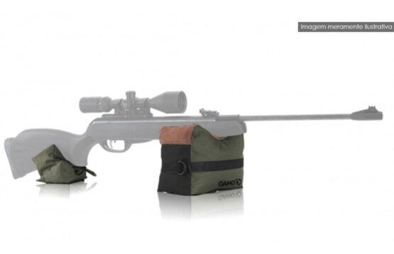 Saco de Tiro y Apoyo Gamo Para Rifles de Aire 2