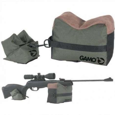 Saco de Tiro y Apoyo Gamo Para Rifles de Aire 1