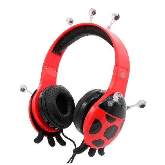 Vcom Auriculares para Niños The Ladybud Headphone DE802 1