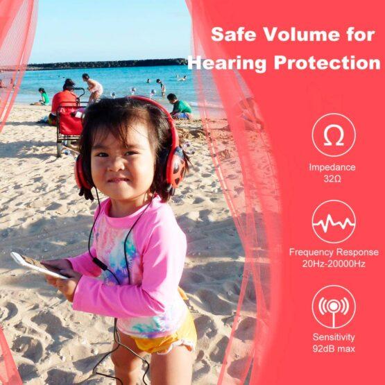 Vcom Auriculares para Niños The Ladybud Headphone DE802 2
