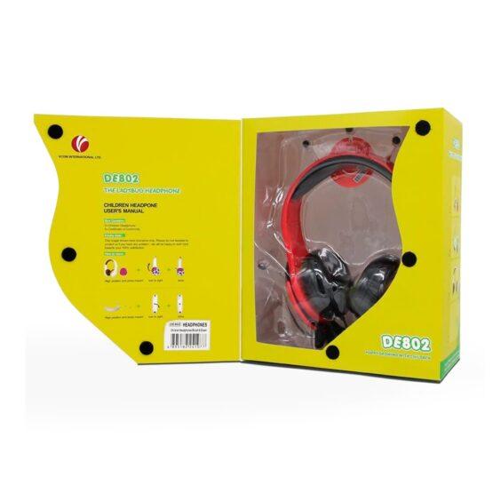 Vcom Auriculares para Niños The Ladybud Headphone DE802 8