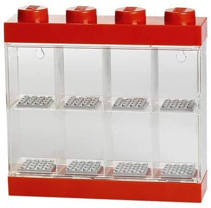 Vitrina Plastica Lego Minifigures 8 o 16 4