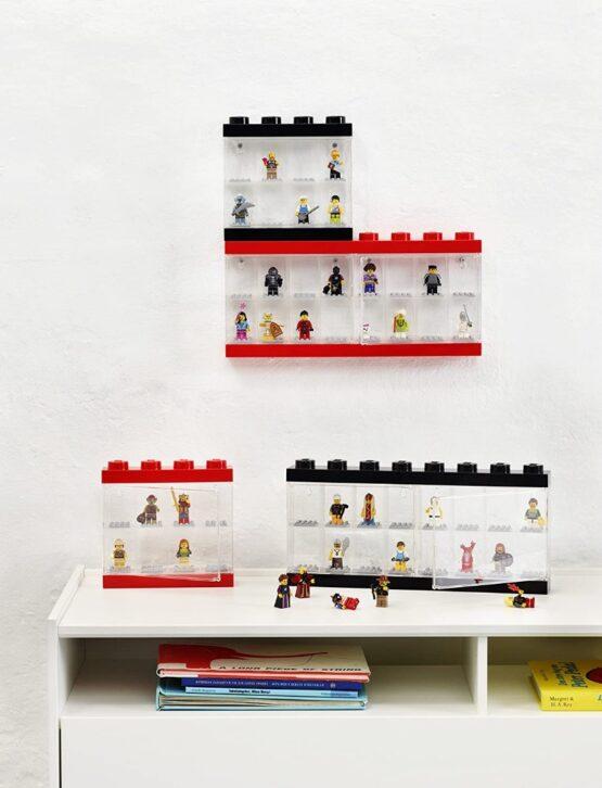 Vitrina Plastica Lego Minifigures 8 o 16 6