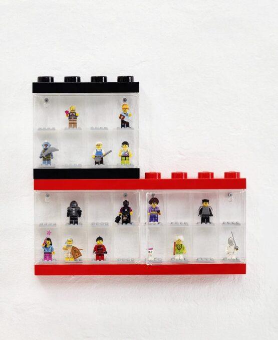 Vitrina Plastica Lego Minifigures 8 o 16 1