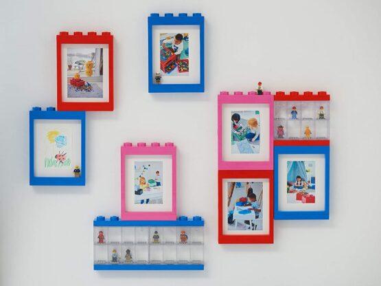Vitrina Plastica Lego Minifigures 8 o 16 8