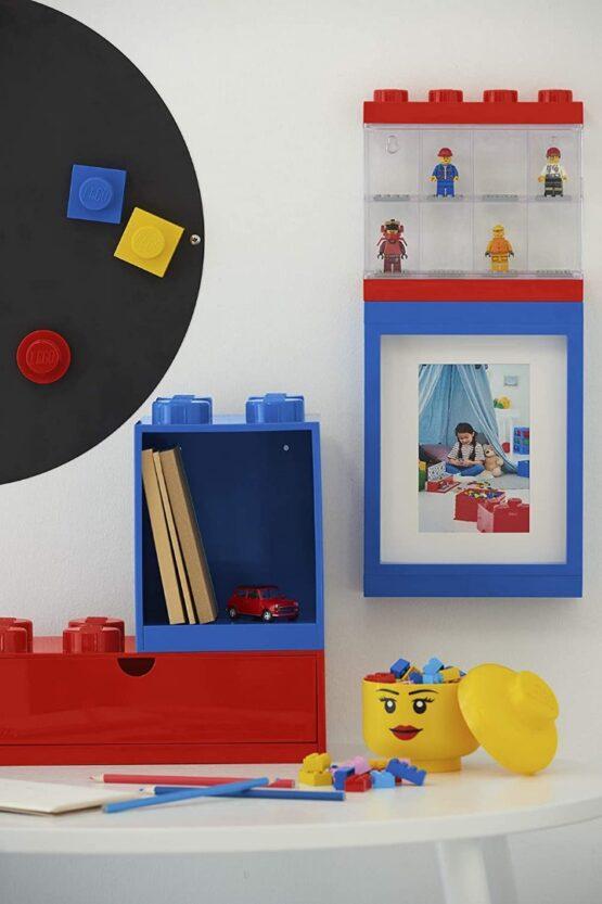 Vitrina Plastica Lego Minifigures 8 o 16 9