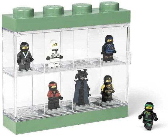 Vitrina Plastica Lego Minifigures 8 o 16 10
