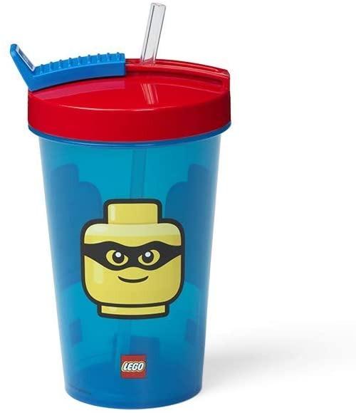 Vaso con Sorbito Lego Infantil 1