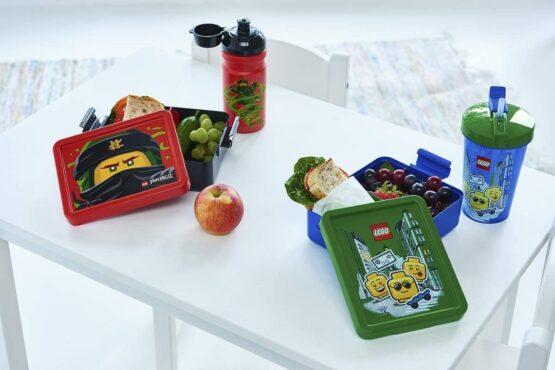 Vaso con Sorbito Lego Infantil 3