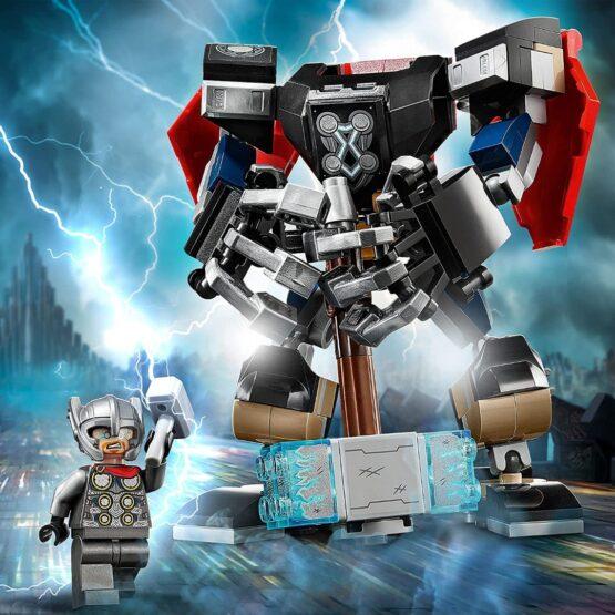 Armadura Robotica Lego de Thor 4