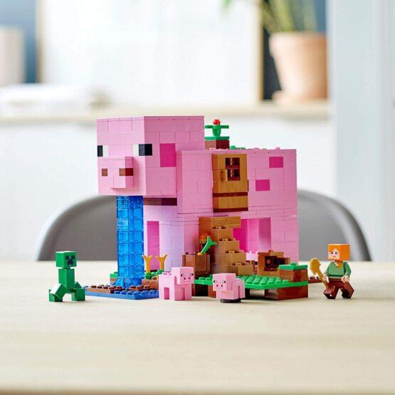Lego Minecraft La Casa Cerdo 2