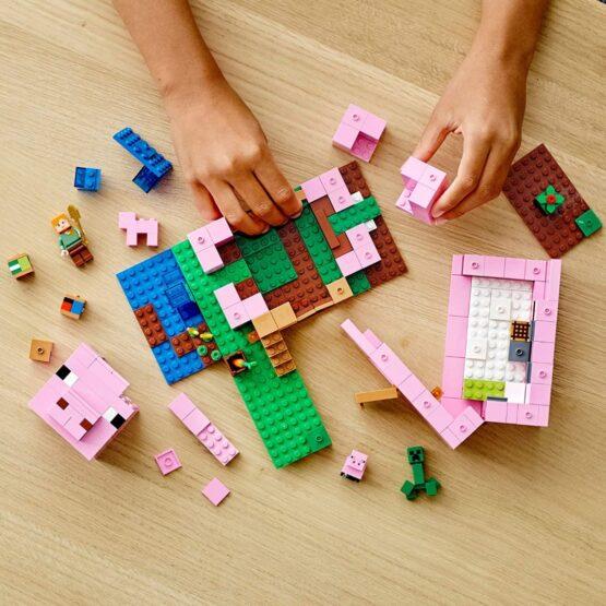 Lego Minecraft La Casa Cerdo 3