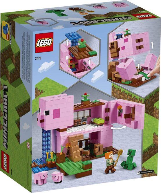 Lego Minecraft La Casa Cerdo 4