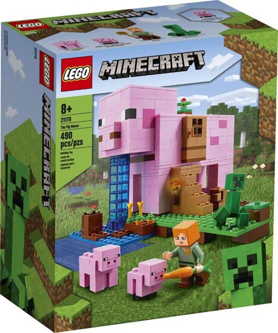 Lego Minecraft La Casa Cerdo 5