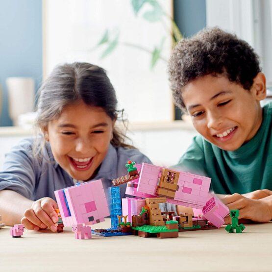 Lego Minecraft La Casa Cerdo 6