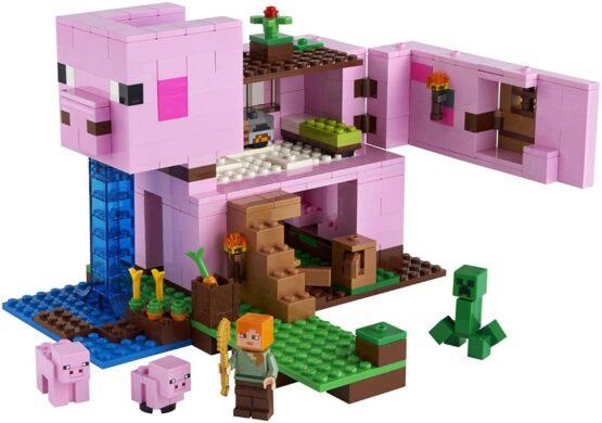 Lego Minecraft La Casa Cerdo 7
