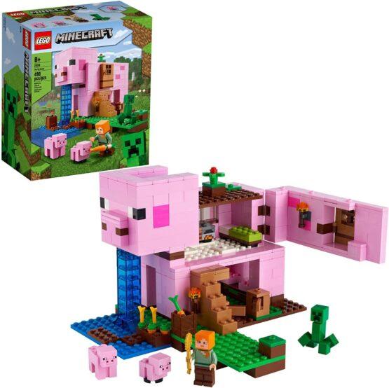 Lego Minecraft La Casa Cerdo 1