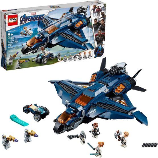 Lego Marvel Avengers Ultimate Quinjet 2