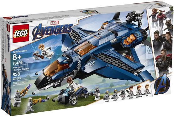 Lego Marvel Avengers Ultimate Quinjet 4
