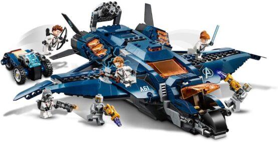 Lego Marvel Avengers Ultimate Quinjet 5