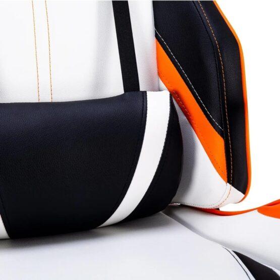Silla Gamer Meetion Black + Orange/ Black + White MT-CHR15 11