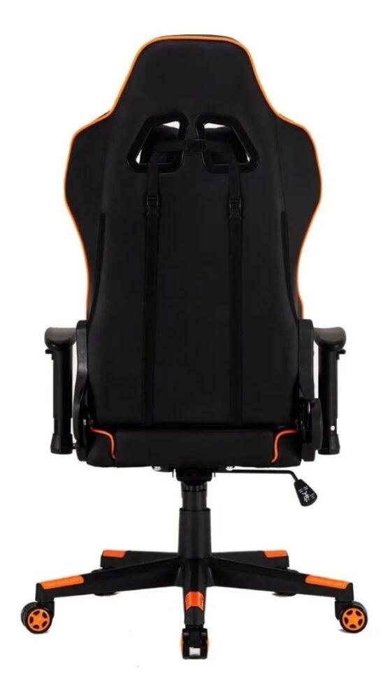 Silla Gamer Meetion Black + Orange/ Black + White MT-CHR15 4