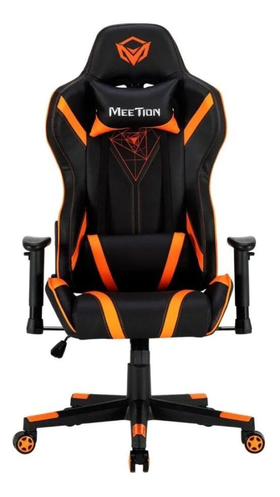 Silla Gamer Meetion Black + Orange/ Black + White MT-CHR15 1