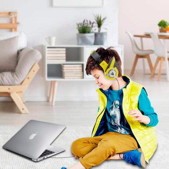 Vcom Auriculares para Niños The Hero Headphone DE803 3